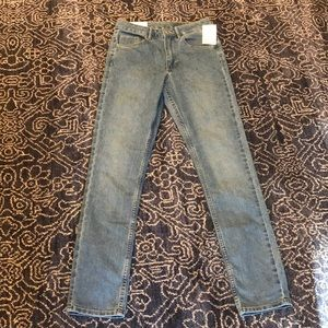 NWT H&M Skinny Ankle High Waist Jeans 27